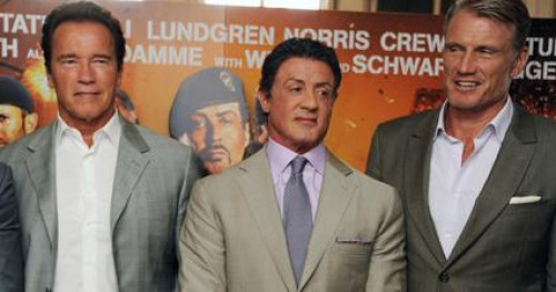 Arnold Schwarzenegger, Sylvester Stallone and Dolph Lundgren Want to 'Grow Old Ungracefully'