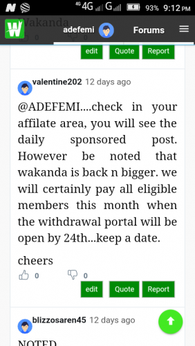 Wakanda denial us our money