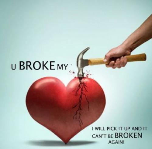 Who will mend My Broken Heart.