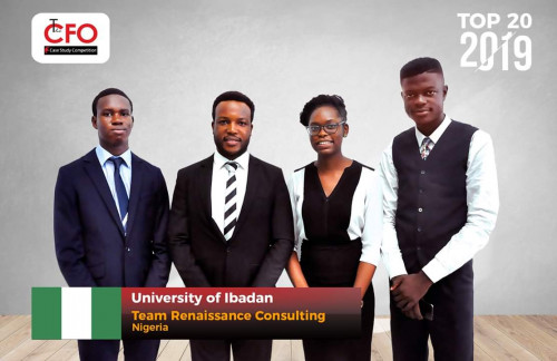 Nigerian Students Shine At CFO Global Competition 2019