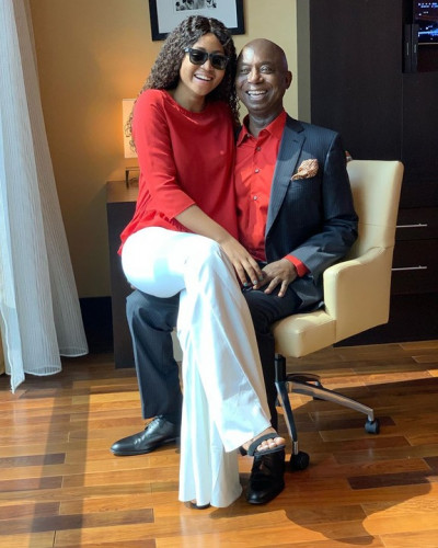 Regina Daniels And Husband, Ned Nwoko Flaunt Their Love (Photos)
