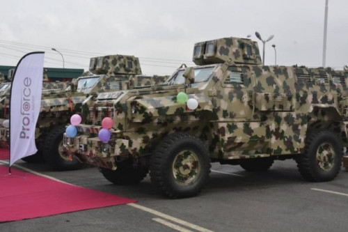 Army Shows Its Latest Made In Nigeria Mine And Bomb Resistant Vehicles (photos)