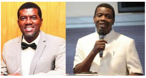Reno Omokri Blasts Pastor Adeboye Over Kidnapping Of Five RCCG Pastors