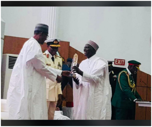 National Defense College Honors Yusuf Bichi, DSS DG