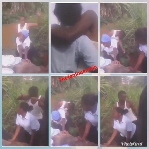 Secondary School Girls Caught Twerking And Grinding On Male Students & Kissing
