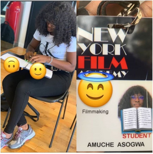 Alex Unusual Pays N31m For 2 Year Course In New York Film Academy
