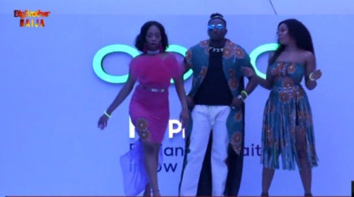 BBNaija: Pictures From Runway Fashion Show By Housemates