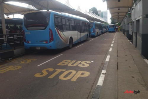 These Buses Are Not Lagos BRT Buses (see PHOTOS)