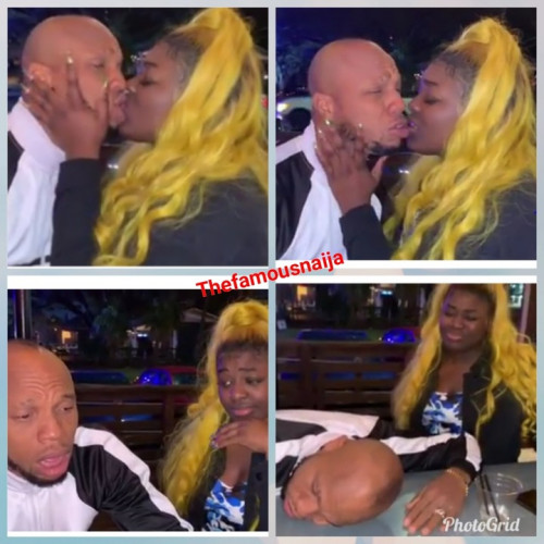 Charles Okocha Kisses Lady With Mouth Odour