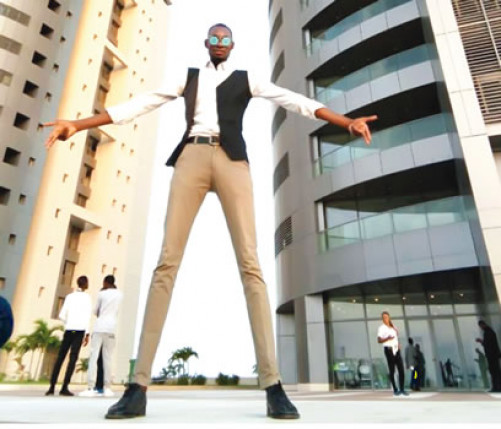 Bakare Olalekan Mubarak: My Height, My Greatest Asset — Tallest Model In Nigeria