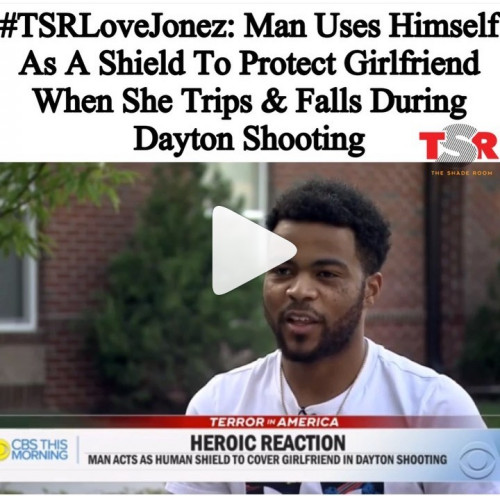 Man Shields Girlfriend From Attack As Ohio Gunman Opens Fire In Unseen Footage