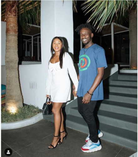 Mr. Eazi And His Girlfriend, Temi Otedola Step Out For A Date In Mikonos