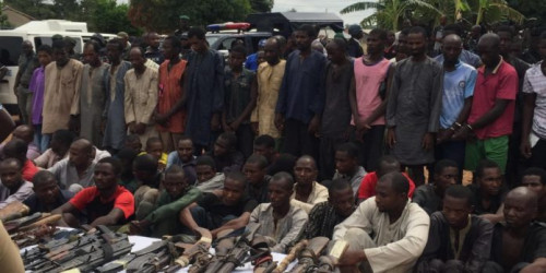 Police Arrest Over 100 Armed Robbery Suspects On Mile 2-badagry Expressway (pix)