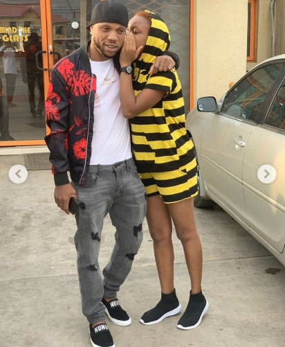 Charles Okocha And His Lookalike Daughter Step Out In Style (Photos)