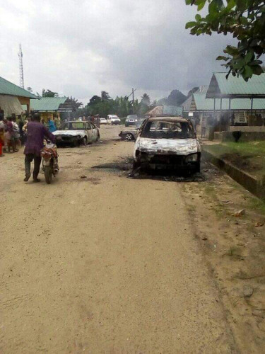 Okwale Community In Rivers State Invaded By Gunmen, 5 Persons Killed - Photos