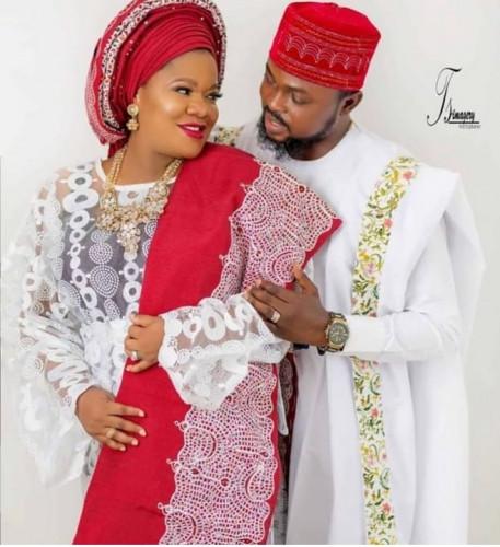 Toyin Abraham Weds Kolawole Ajeyemi, Remarries (Wedding Photo)