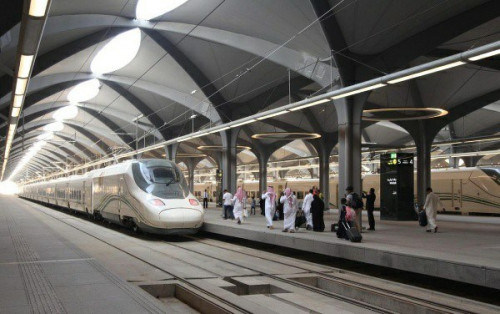High-speed Electric Trains Ferries Muslims During Hajj Pilgrimage In Saudi