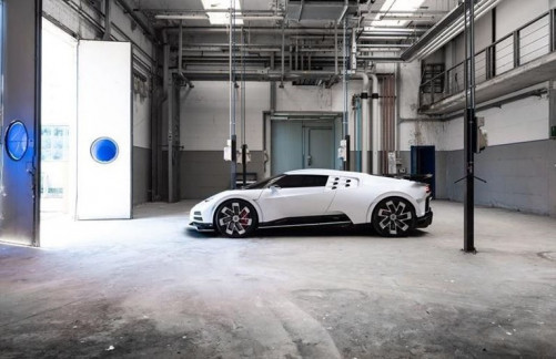 The New Bugatti EB110 SS That Costs 4.8 Billion Naira
