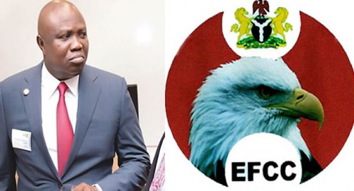 Moment Epe Residents Stopped EFCC From Entering Ambode House