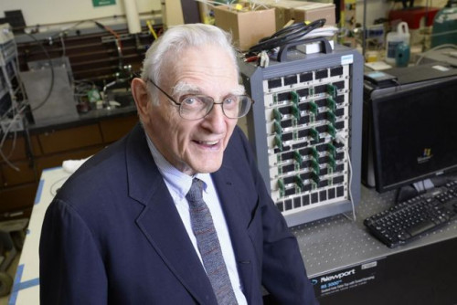 The Inventor of the Lithium-Ion Battery Invents an Even Better One