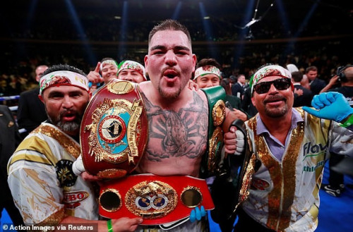 Andy Ruiz Jr Agrees To Fight Anthony Joshua In Saudi Arabia Rematch