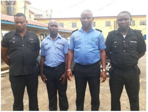 4 Police Men Who Killed Unarmed Suspects In Lagos Have Been Dismissed & Remanded