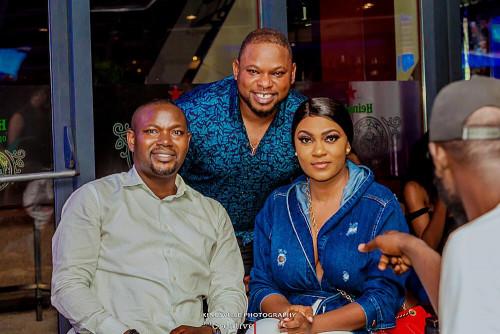 Isabella Ayuk, Empress Njamah, Black Solo Storm Kingsley Amafibe Birthday Party