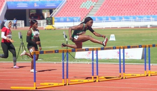 Nigeria's Tobi Amusan breaks 20-year-old African Games record