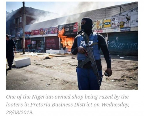 South Africa: Foreign-owned Businesses Attacked In New Wave Of Xenophobia
