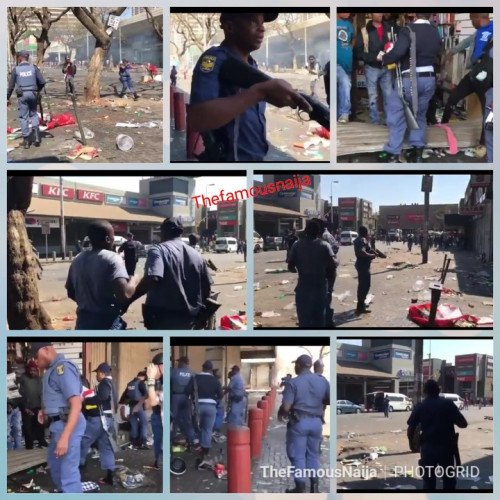 South Africans Looted Nigerian, Other Foreigners' Shops (Photos)