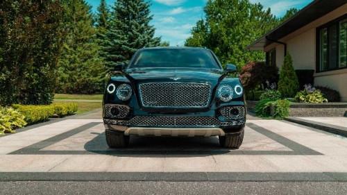 Bentley Bentayga SUV: The World's First-ever Bulletproof