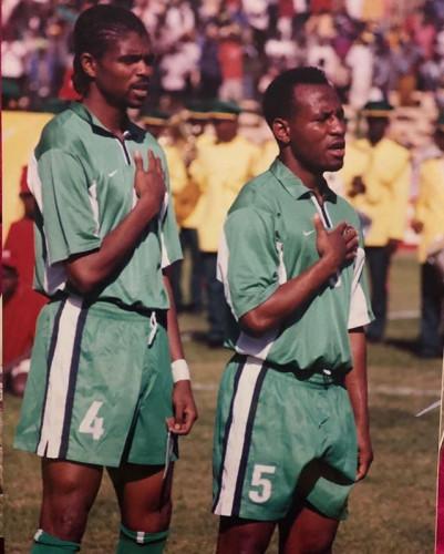 "Kanu Nwankwo Shares Throwback Photo, Says ""Discipline Will Take You Far"""