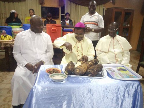 Bishop Paulinus Ezeokafor's Iwaji (New Yam) Festival 2019