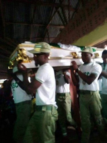 Jacinta Chinenye Ndem: Burial Of Corper Who Died In An Accident