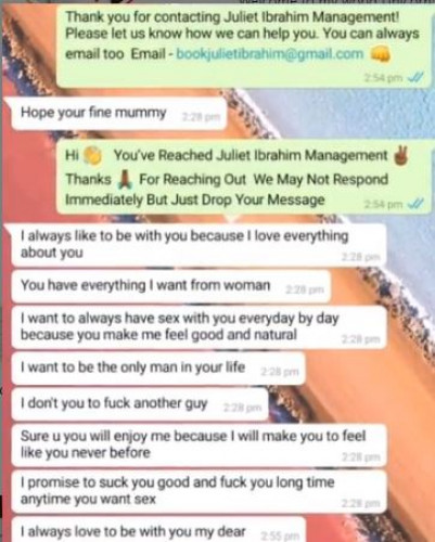 Juliet Ibrahim Reacts To Men Asking Her For Sex And Sending Their Joystick Pics