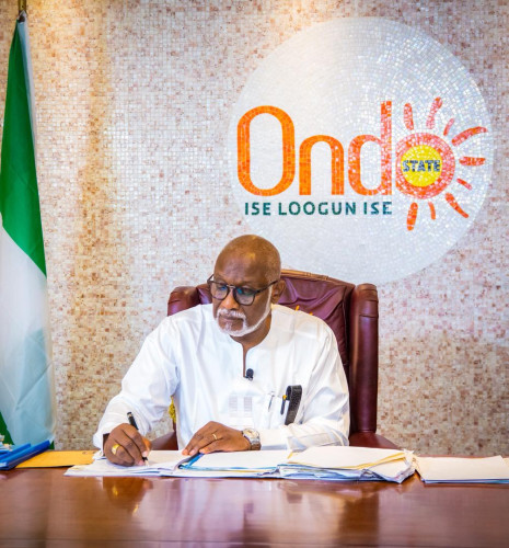 Governor Akeredolu Pays N4 Billion To Pensioners