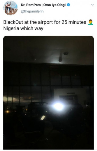 25 Minutes Blackout At A Nigerian Airport