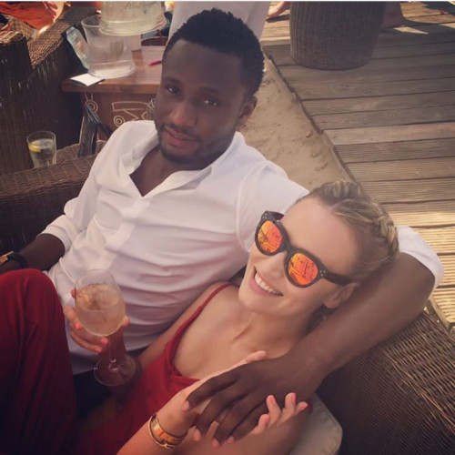 Olga Diyachenko Reacts To Split Rumours From Mikel Obi