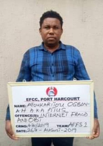 Ogbonnah Atoukaritou And Alpha Chidi Egbeonu Arrested By EFCC (Photos)