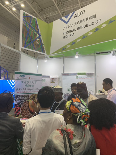 Pictures Of The Nigerian Stand At TICAD7