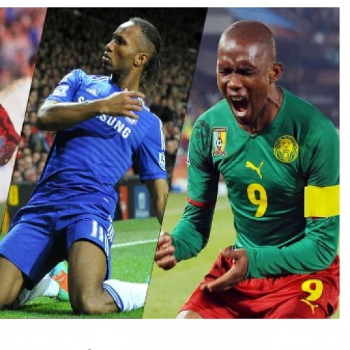 Etoo one of the African footballer