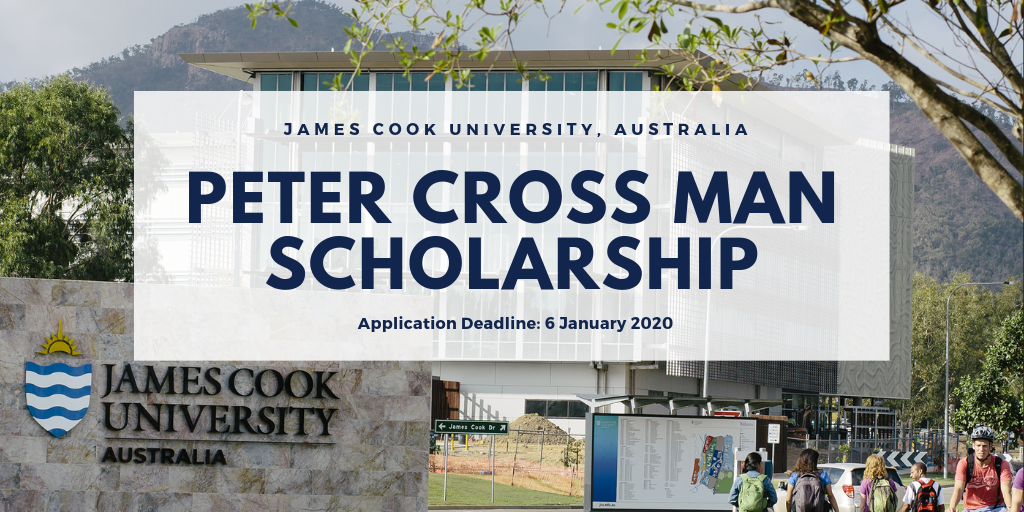 James Cook University Peter Crossman Scholarships