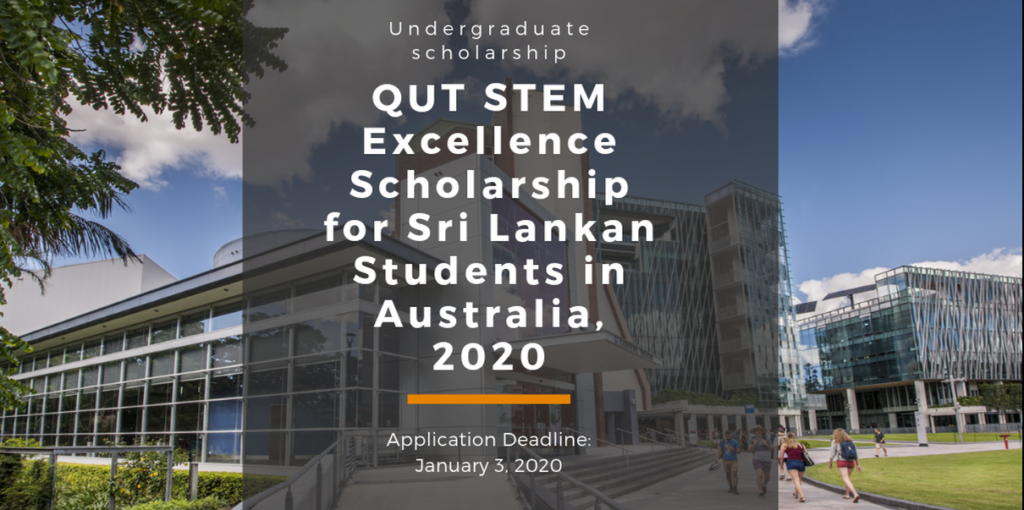 QUT STEM Excellence Funding for Sri Lankan Students