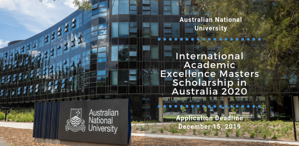 ANU College International Masters Programme 2020
