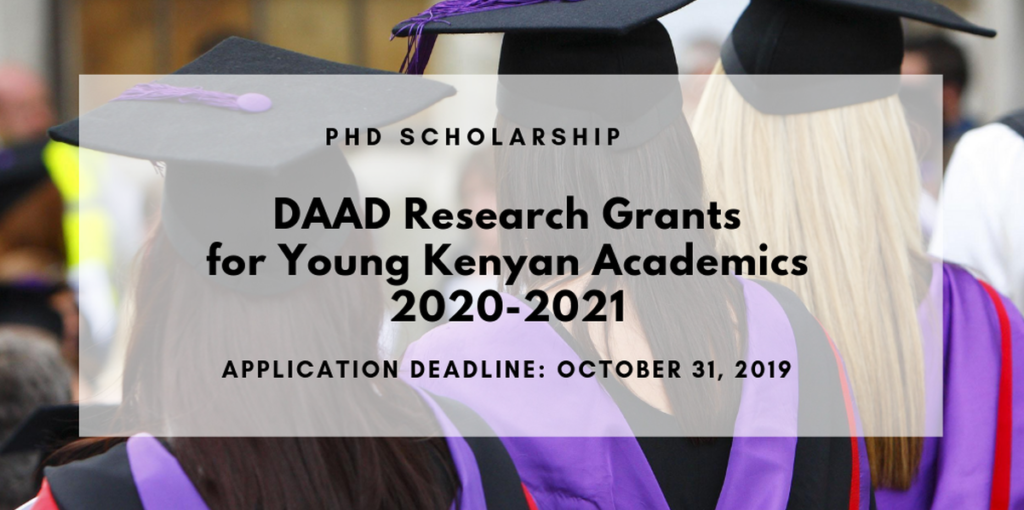 DAAD Research Grants for Young Kenyan Academics