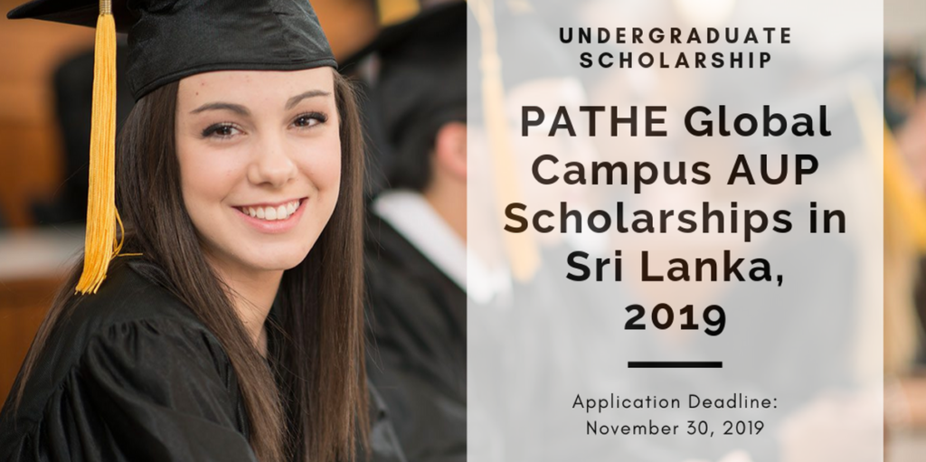 PATHE Global Campus AUP Scholarships in Sri Lanka