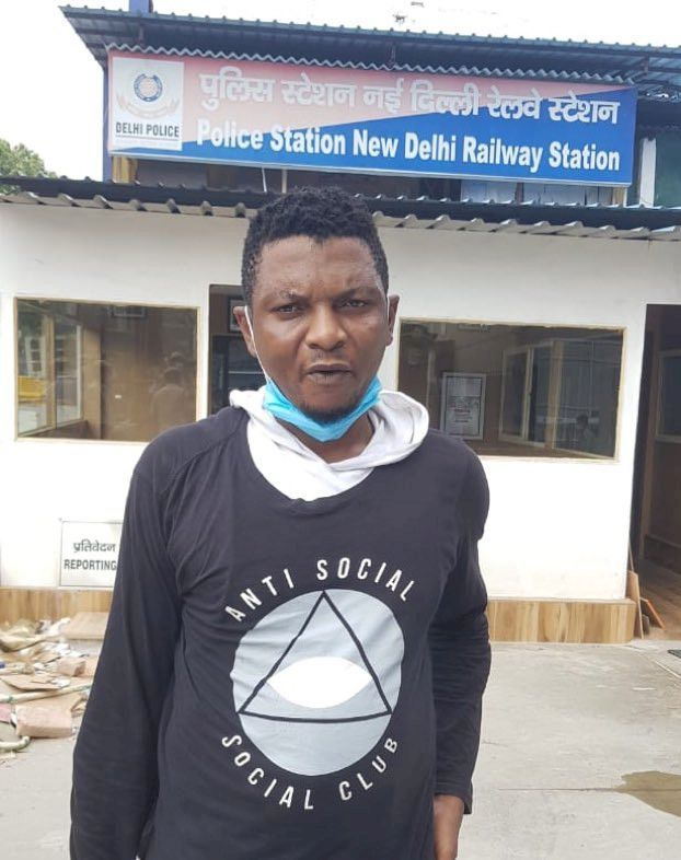 Nigerian 'drug peddler' on expired visa arrested in India with 250 gms cocaine