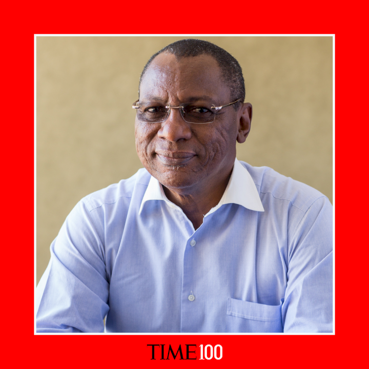 Nigerian physician Dr. Tunji Funsho named one of TIME's Most Influential People in the world