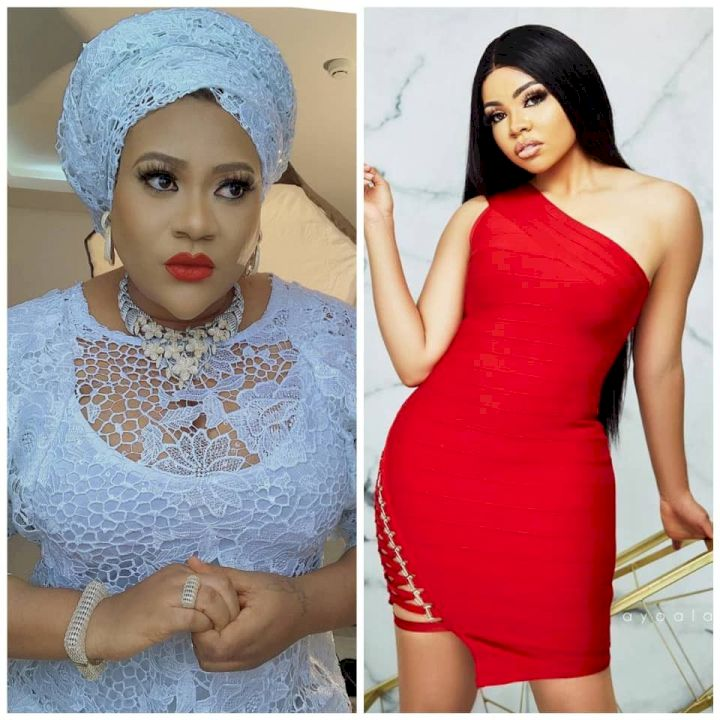 ''Are you crazy?''- Nkechi Blessing Sunday hits back at Nengi's managment after she was called out on Instagram