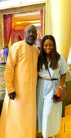 Jackie Appiah Denies Being Pregnant For George Weah, Liberia's President